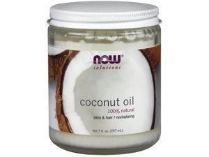 Solutions Coconut Oil - Now Foods - 7 oz - Liquid