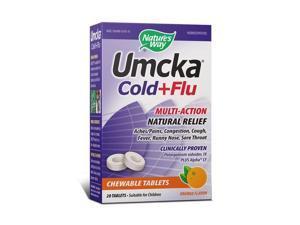 Umcka Cold & Flu Orange - Nature's Way - 20 - Chewable
