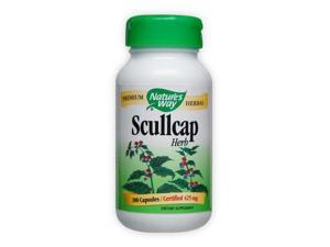 Scullcap Herb - Nature's Way - 100 - Capsule