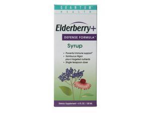 Elderberry C Syrup - Quantum - 4 oz - Liquid
