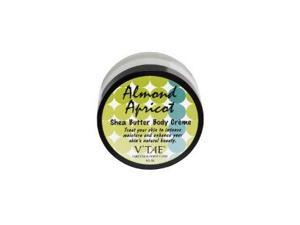Almond Apricot Shea Butter Body Creme - V'TAE Parfum and Body Care - 6.5 oz - Cream