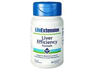 Liver Effieciency Formula - Life Extension - 30 - VegCap