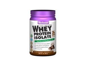 Whey Protein Isolate Chocolate - Bluebonnet - 2 lbs - Powder