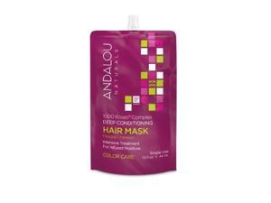 1000 Roses Complex Color Care Deep Conditioning Hair Mask - Andalou Naturals - 1.5 oz - Cream