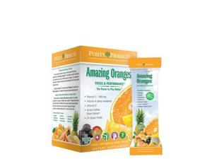 Amazing Oranges with 500 mg Vit C - Purity Products - 30 Packets - Box