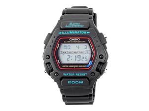 Casio Men's DW290-1V Classic Alarm Chronograph Shock Resistant Sport Watch