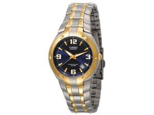 Casio Men's EF106SG-2AV Edifice 10-Year Battery Analog Bracelet Watch