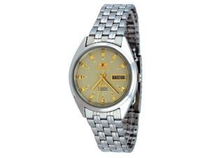 Orient #FEM0401NC Men's Tri Star Champagne Dial Standard Self Winding Automatic Watch