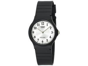Casio #MQ24-7B3 Men's Casual Rubber Strap Analog Watch