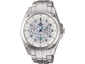 Casio #EF330SB-7AV Men's Edifice Solar Power Stainless Steel Multi Function Display Watch