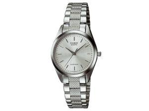 Casio #LTP1274D-7A Women's Metal Fashion Silver Dial Analog Watch