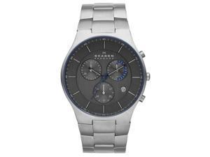 Skagen SKW6077 Men's Aktiv Balder Men's Titanium Link Chronograph Watch