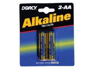 Dorcy Mastercell Alkaline Industrieal Battery Aa 2 Pack DORCY INTERNATIONAL