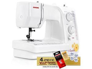 Janome Magnolia 7318 Sewing Machine w/ FREE! 4-Piece V.I.P Reward Package