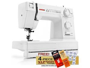 Janome HD1000 Heavy Duty Sewing Machine w/ FREE! 4-Piece V.I.P Reward Package