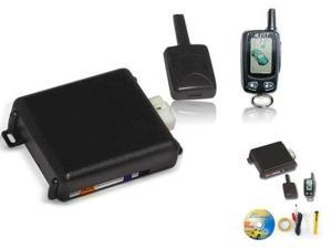 Bulldog Deluxe 500B Two-Way Remote Starter w/ LCD Screen, Keyless Entry & Remote Bypass Module.