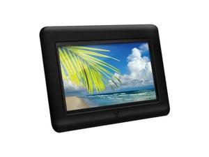 "Aluratek 7"" Digital Photo Frame w/ Built-In Card-Reader."