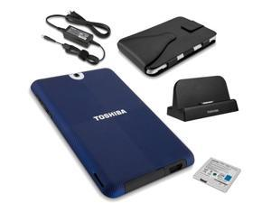 Toshiba Thrive Ultimate Accessory Bundle with Dock, AC Adapter, Carrying Case, Battery, Case & Screen Protector