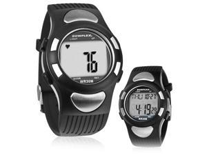 Bowflex EZ Pro Heart Rate Monitor Watch with ECG, Quick Touch Technology, Timer (Black)