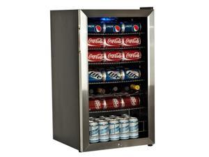EdgeStar 103 Can and 5 Bottle Ultra Low Temperature Stainless Steel Beverage Cooler (BWC120SSLT)