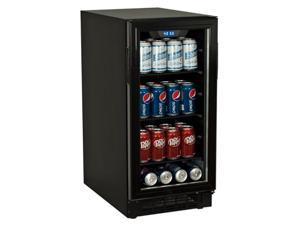 Koldfront 80 Can Built-In Beverage Cooler - Black