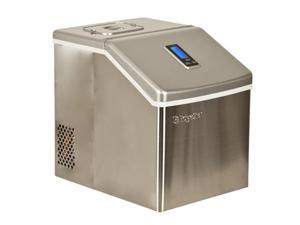 EdgeStar Portable Stainless Steel Clear Ice Maker - Stainless Steel