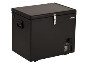 Koldfront KF430 43-Quart 12V DC Portable Fridge Freezer, Black