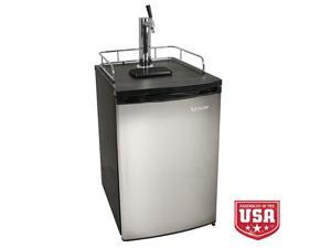 EdgeStar Full Size Kegerator with Stainless Steel Door - Stainless Steel/Black