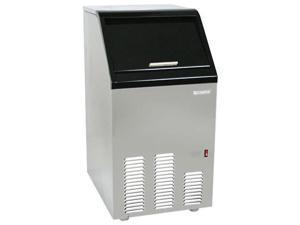 EdgeStar 65 lb. Capacity Full Size Ice Maker - Stainless Steel