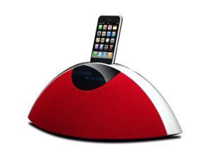 SR-80i AM/FM Radio with Dock for iPhone or iPod (Red)