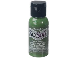 SoSoft Fabric Acrylic Paint 1oz-Avocado Green