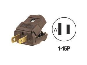 Leviton 015-101P Cord Plug-BRN CORD PLUG