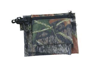 Custom Leathercraft 1100M 3 Zipper Storage Bags-3PK MOSSY OAK BAGS