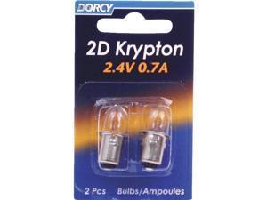 Dorcy International 41-1660 Krypton Bulb-2CD 2D KRYPTON BULB