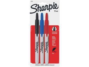 Sanford Corporation 32726 Sharpie Retractable Pen-3PK RETRACTABLE SHARPIE