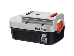 Firestorm 18 Volt FSX-TREME Extended Run Time Battery Silver Series FS18SBX