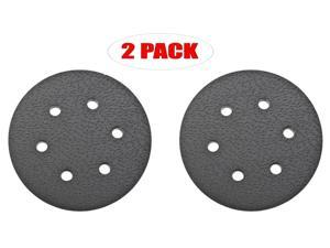 Porter-Cable 17000 6-Inch 6-Hole Standard Pad for 7336 and 97366 Sander (2 Pack) # 874675-2pk - OEM