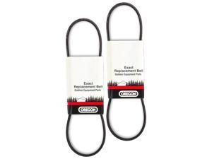 Oregon (2 Pack) 75-158 Belt For MTD E600F To 615D Model Snow Throwers Size: 3/8 x 35-1/8 954-0430, 754-0430