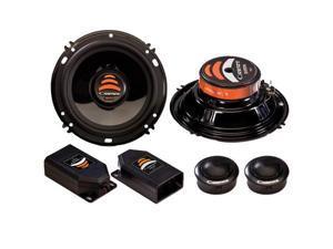 "Cadence Acoustics Xenith Series XS6K, 6.5"" 200 Watt Peak Power 2-Way Car Speaker Component Kit"