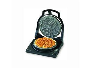 "Chef'sChoice International WafflePro Taste/Texture Select Traditional ""Five-of-Hearts"" - M840"