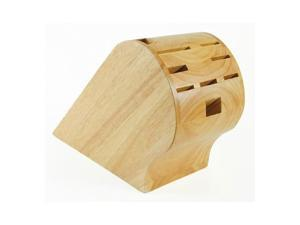 Messermeister - 10 Slot Rubberwood Knife Block