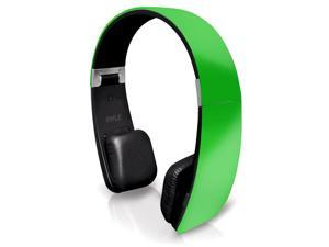 Pyle Sound 6 PHBT6G  Bluetooth 2-in-1 Stereo Headphones with Built-in Mic (Green)