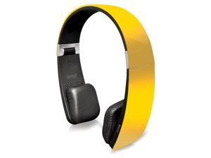 Pyle Sound 6 PHBT6Y  Bluetooth 2-in-1 Stereo Headphones with Built-in Mic (Yellow)