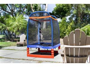 SkyBound TS-0424 Super 4 Trampoline and Enclosure System
