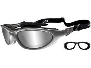 Wiley X Blink Silver Flash/Aluminum Gloss Climate Control Glasses