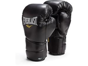 Everlast Black ProTex2 16oz Leather Training Gloves L/XL 3216BLXL