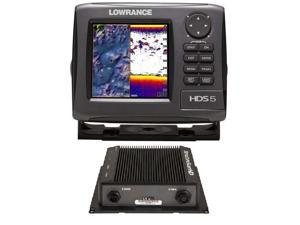 Lowrance HDS-5 Gen2 Lake Insight 83/200Khz & LSS-2 HD Bundle 000-10868-001