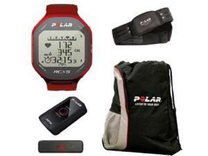 Polar RCX5 G5 GPS Heart Rate Running Monitor Computer Watch Red 90042072
