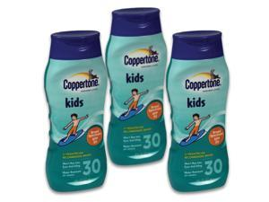 Coppertone Sunscreen Kids Lotion SPF30 8oz 3-Pack 70482
