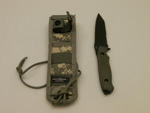Benchmade Nimravus Tanto FB Knife Combo Edge Black/Green 141SBK-ADC